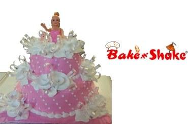 BARBIE DOLL CAKE 3