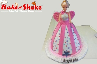BARBIE DOLL CAKE 1