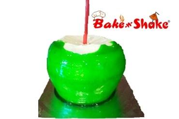 COCONUT SHAPE CAKE