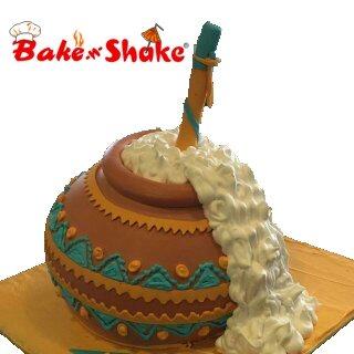 MATKI SHAPE CAKE
