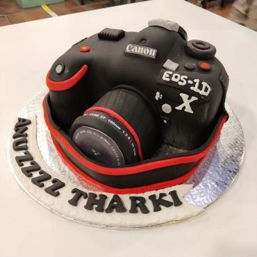 CAMERA SHAPE CAKE