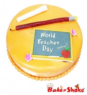 TEACHERS DAY CAKE DESIGN 2