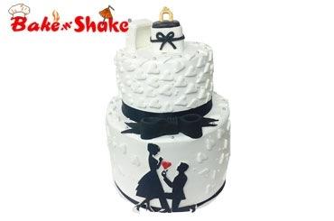 WEDDING & ANNIVERSARY CAKE 1