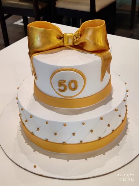 Wedding and Anniversary  cake 4