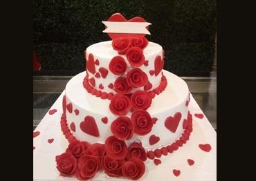 WEDDING & ANNIVERSARY CAKE 5
