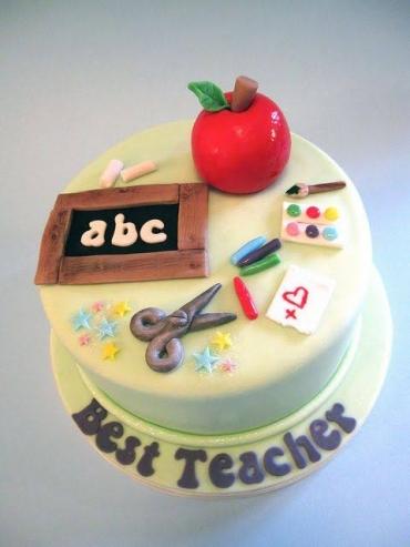 TEACHERS DAY CAKE DESIGN 5