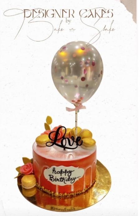 Cake With Ballon
