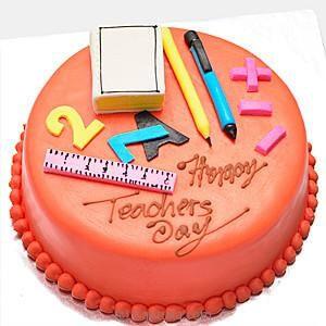 Teachers day cake